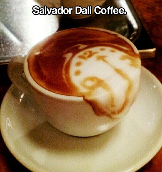 funny-coffee-Salvador-Dali-clock