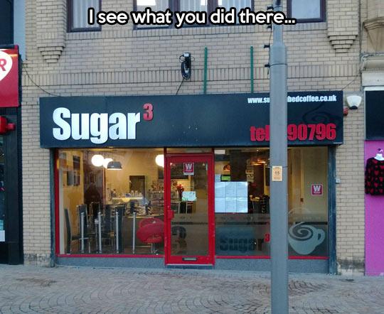 Original name for a coffee place…