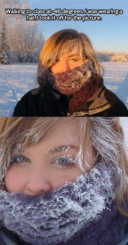 A frozen picture…