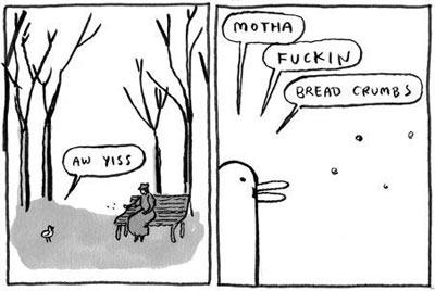 Bread crumbs comic...