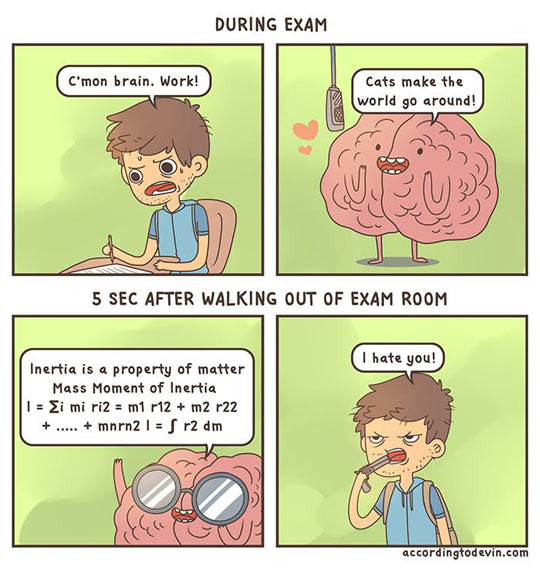Unhelpful brain…