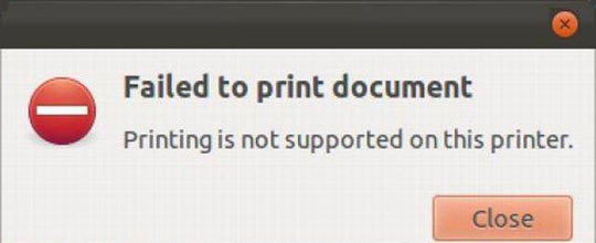 Not supported…