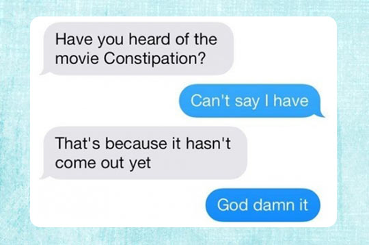 Constipation…