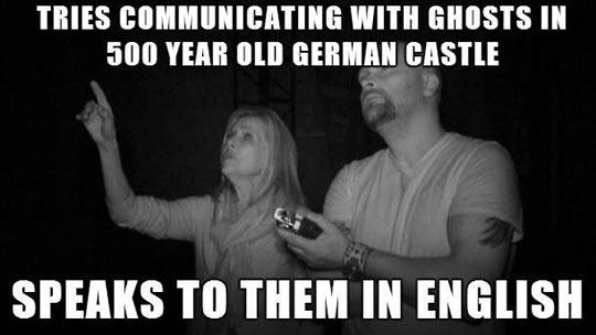 German ghosts…