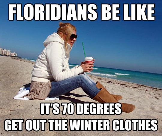 Winter in Florida…