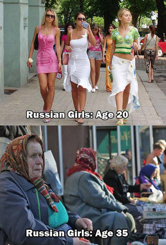 Russian girls…