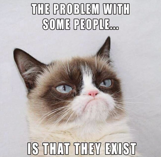 What the real problem is…
