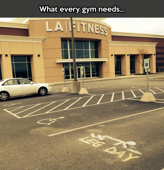 Leg day is rough…