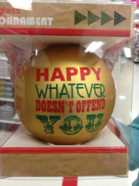 An ornament for everybody…