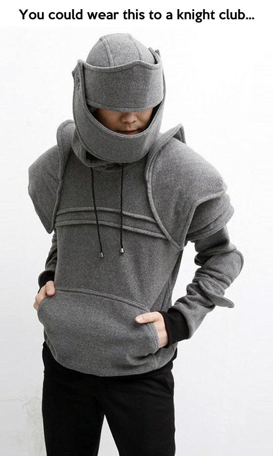 Knight club hoodie…