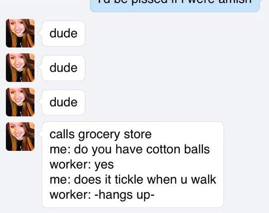 Cotton balls…