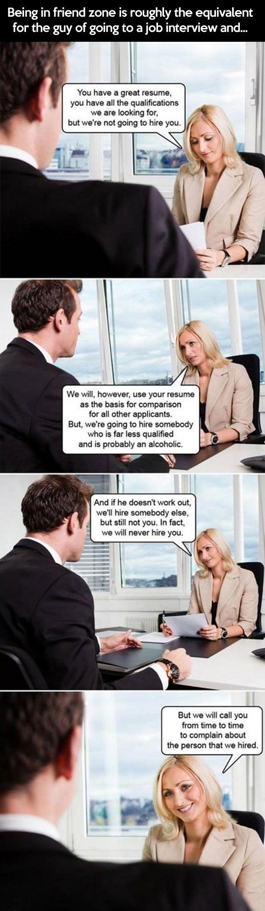 funny-job-interview-friendzone-explain