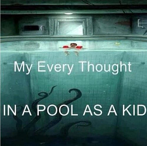 As a little kid, this scared me the most…