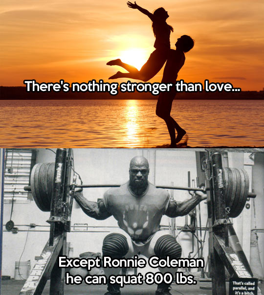 Nothing is stronger than love…