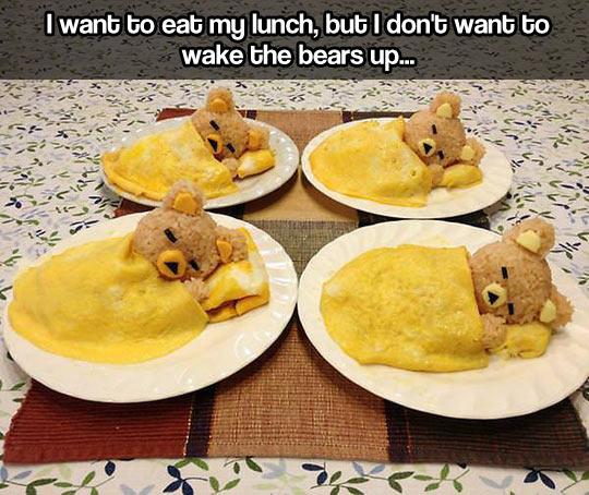 The cutest breakfast…