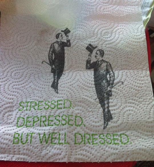 funny-paper-towel-gentleman-dressed