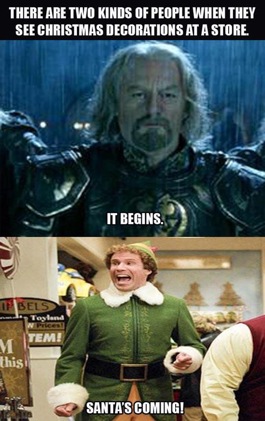 Two kinds of Christmas people…
