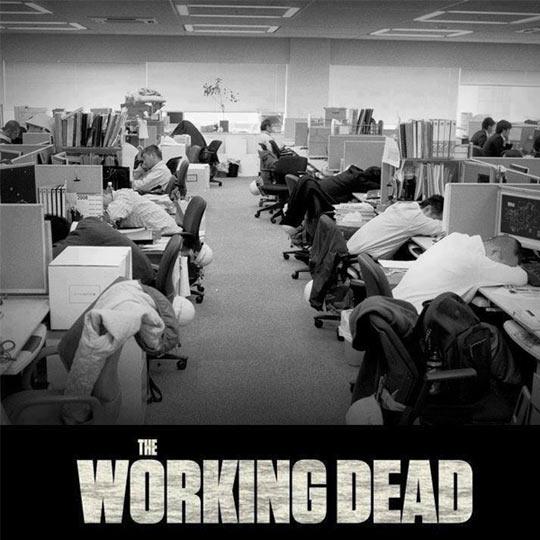 funny-people-work-tired-Walking-Dead