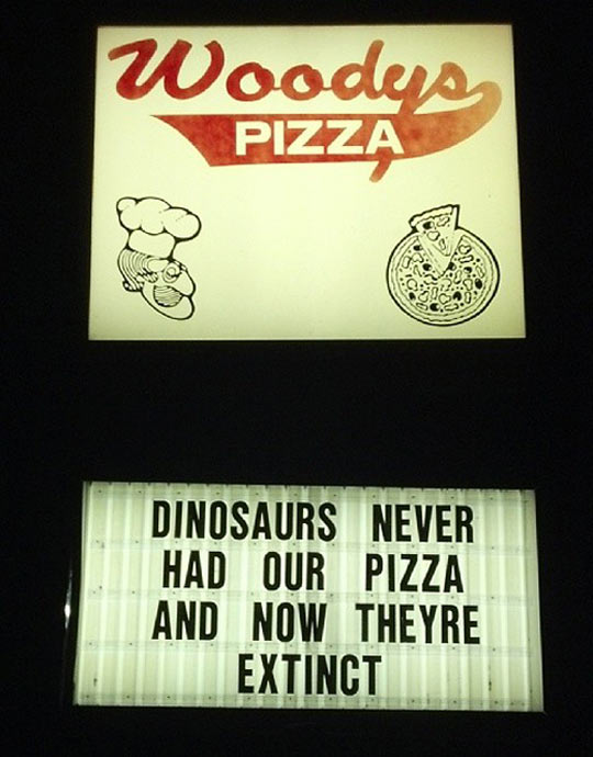 I better eat that pizza…