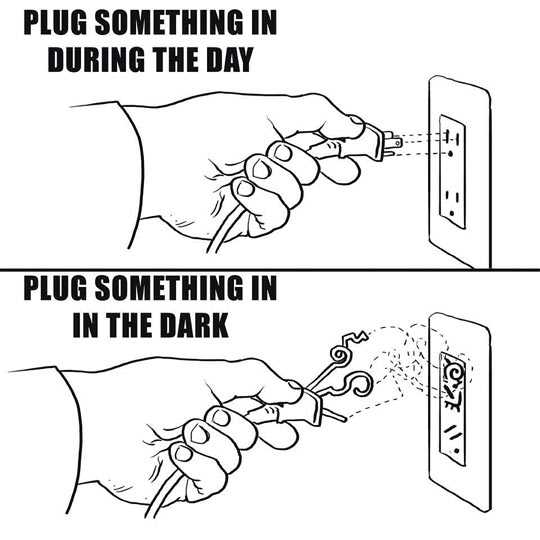 Every Time I Plug Something