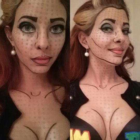 funny-pop-art-Halloween-make-up