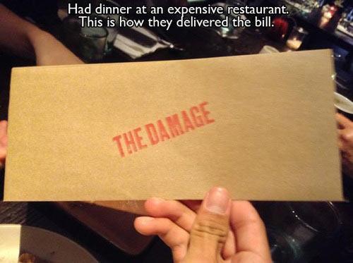 The damage…