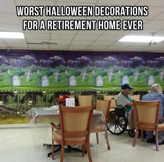 Bad Halloween decorations…