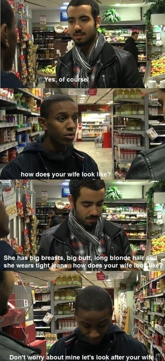 funny-searching-wife-boys-supermarket-together