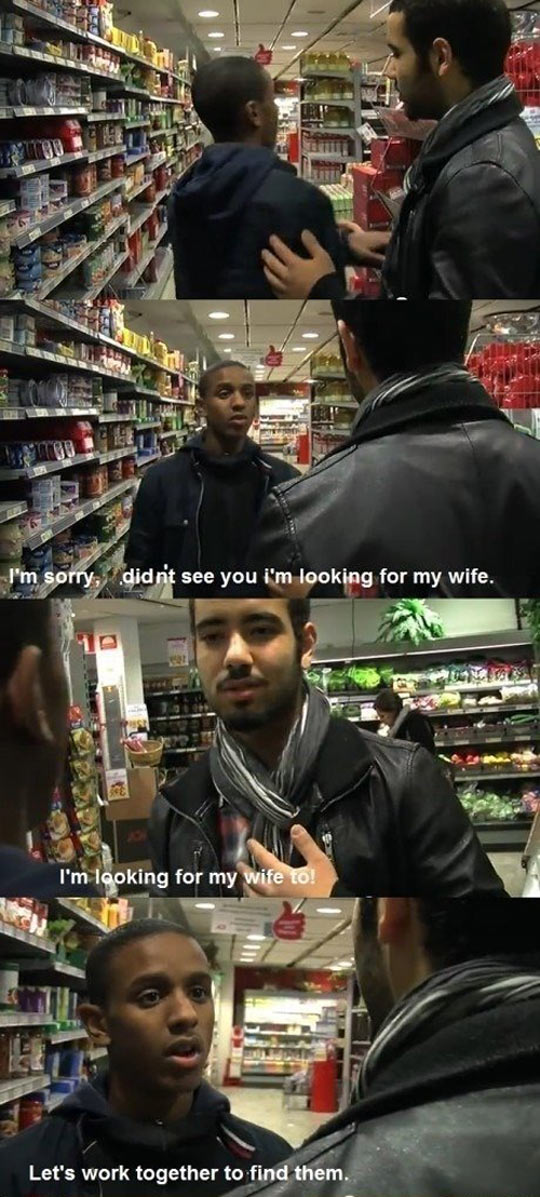 Help me find my wife...