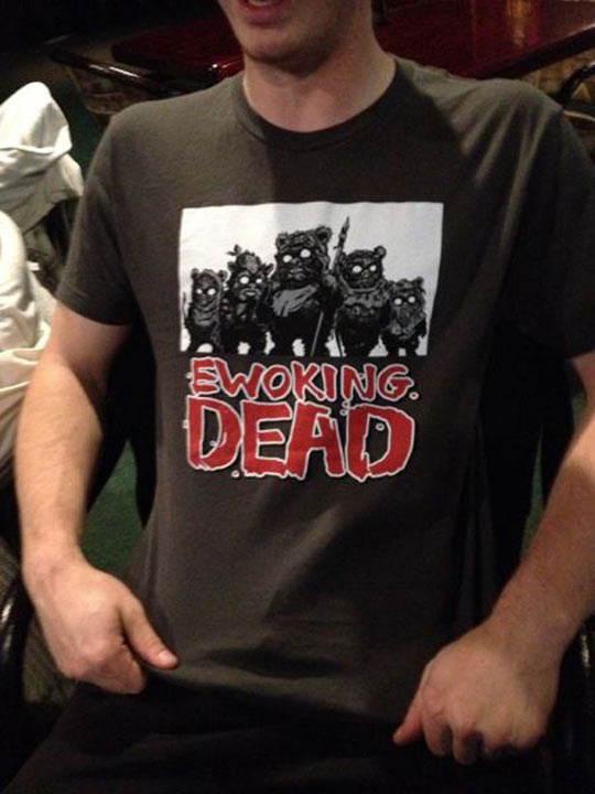Two passions in one shirt…