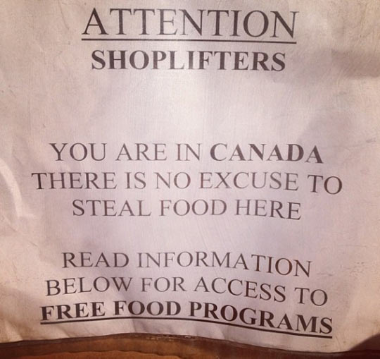 funny-sign-store-Canada-free-food-programs