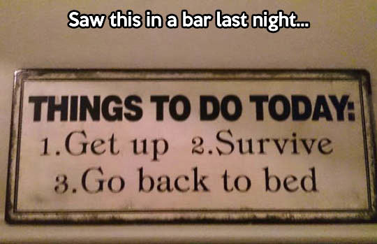 funny-sign-survive-bed-get-up