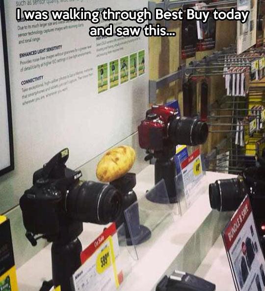 The camera guy had one job…