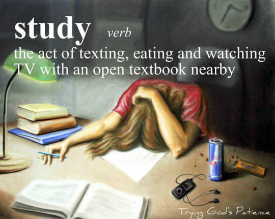 funny-study-verb-definition-distractions