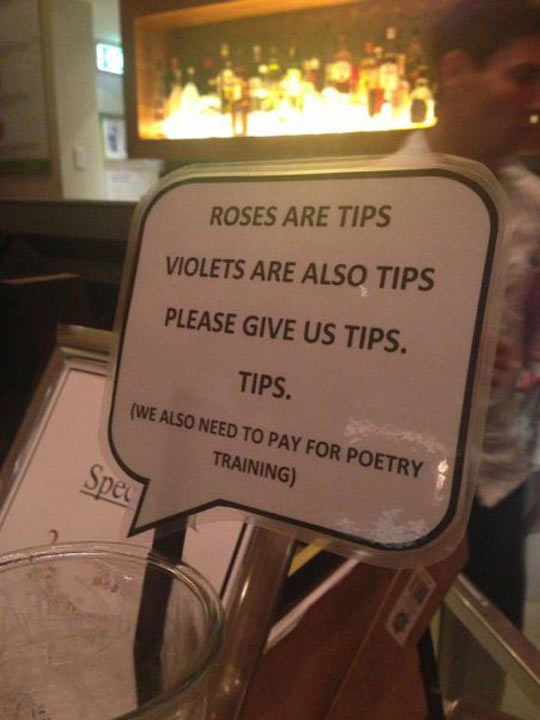 Tips For This Great Poem