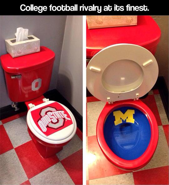 College football rivalry…