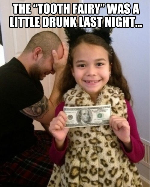 Generous Tooth Fairy…