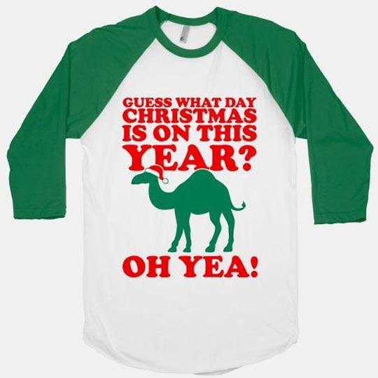 funny-tshirt-Christmas-camel-hump