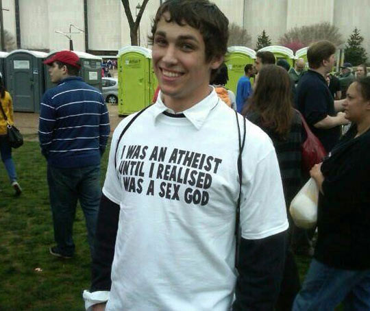 Not an atheist anymore…