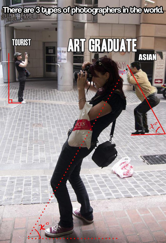 Different photographers, different angles…