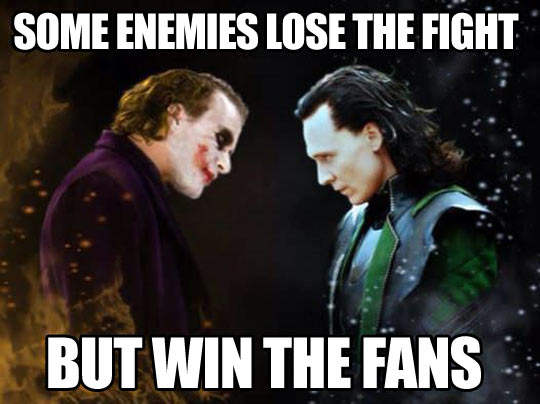 Lovable villains…