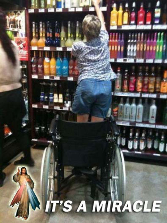 The power of alcohol compels you…