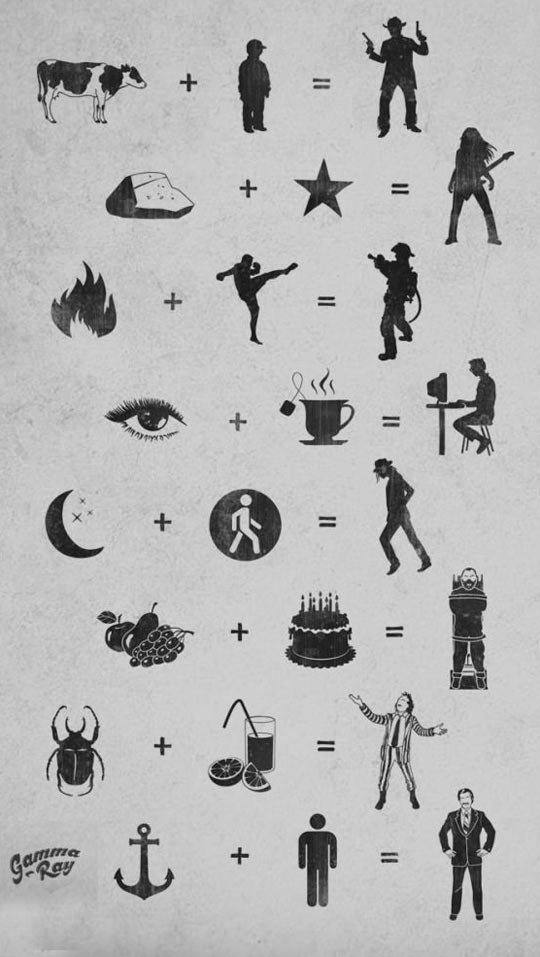 funny-word-play-symbols-poster-icons