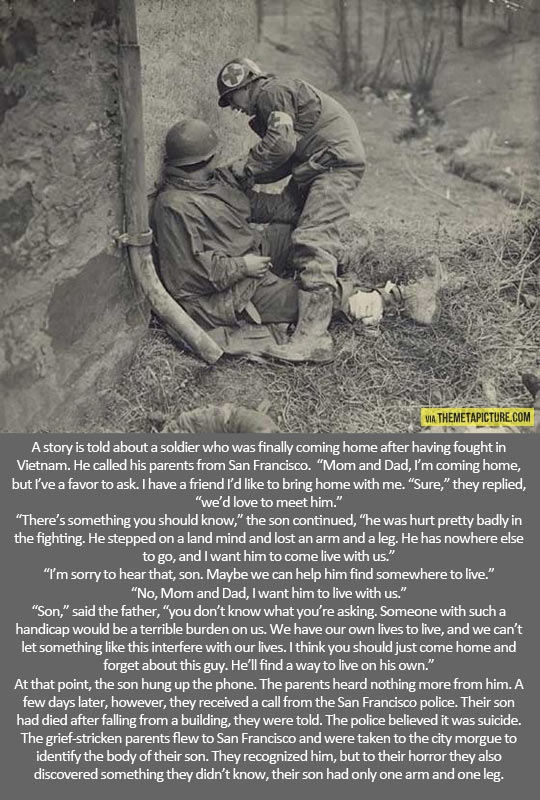 Sad war story…