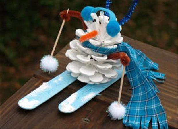 Поделки снеговика своими руками картинки