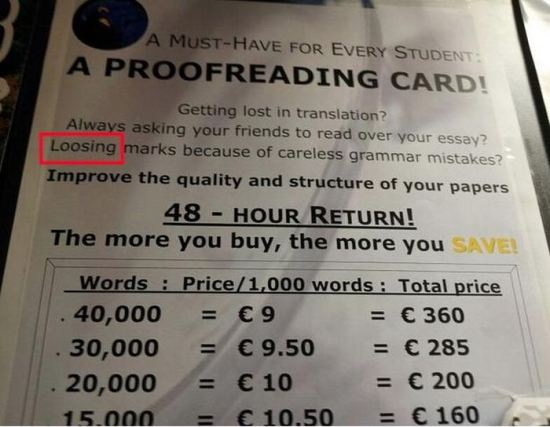 22 Hilarious Grammar And Spelling Fails7