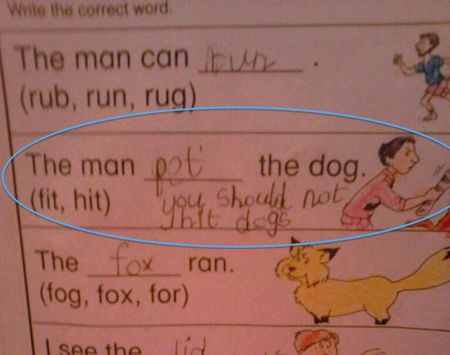 29 Test Answers That Are Totally Wrong But Hilarious17