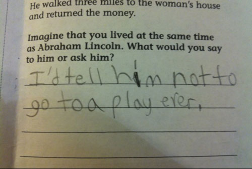 29 Test Answers That Are Totally Wrong But Hilarious28
