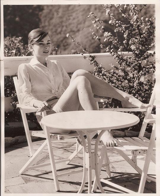 Ladies and gentlemen, Audrey Hepburn…