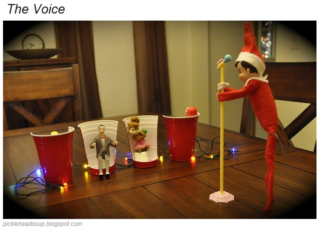 Getting Creative With Elf On Shelf11